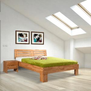 houten tweepersoonsbed basic