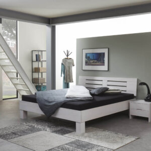 Houten bed country
