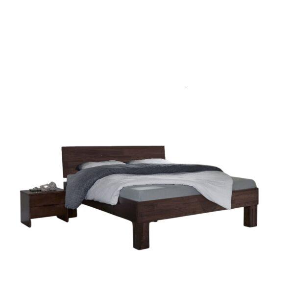 houten tweepersoonsbed smooth